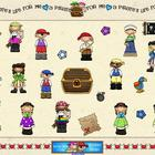 Pirate SMARTBoard Template Game