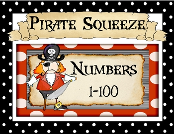 Pirate Squeeze Game:  Numbers 1-100