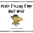 Pirate Telling Time to the Half Hour Activity