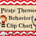 Pirate Themed Behavior Clip Chart Set & Certificates