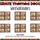 Pirate Themed Classroom Decor Galore Pack