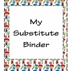 Pirate Themed Substitute Binder