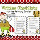 Pirate -Themed Writing Checklists for the Primary Classroom