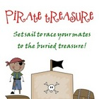 Pirate Treasure 10 More 10 Less Board Game