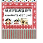 Pirate Treasure Math and Geography Unit