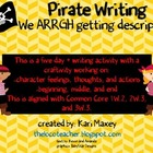 Pirate Writing - Common Core Aligned