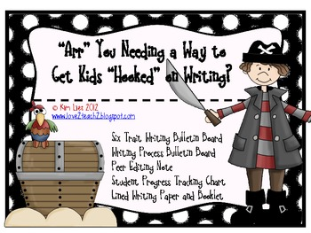 Pirate Writing Pack: 6 Traits, Writing Process and More