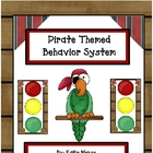 Pirate theme stoplight behavior management system