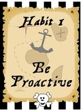 Pirate themed 7 habits