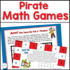 Pirates! Nine Math Games for K-1 Common Core Standards