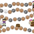 Pirate's Plunder Money Change Game CANADIAN Version
