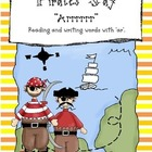 Pirates Say &quot;Arrrr&quot;- Reading and Writing Words with &quot;ar&quot;