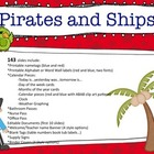 Pirates and Ships Classroom Theme Set