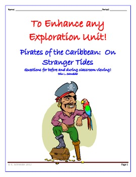 Pirates of the Caribbean: On Stranger Tides (Movie Qs for