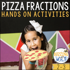 Pizza Fractions Craftivity &amp; Activity Pack
