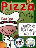 Pizza Party Math & Literacy Bundle
