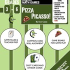 Pizza Picasso!  A Common Core Fast-Paced Long Division Gam