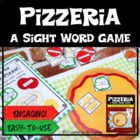 Pizzeria- A Sight Word Game