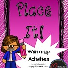 Place It! - A Warm-up Math Activity