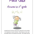 Place Value Activities for 2nd Grade Packet