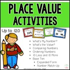 Place Value Activities (up to 120)