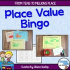 Place Value Bingo Game Boards