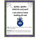 Place Value Build (Ten -One Hundred Twenty) Halloween /Spi