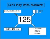 Place Value: Let's Play with Numbers Bulletin Board