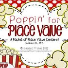 Place Value Cards {Poppin&#039; for Place Value 0 - 120}