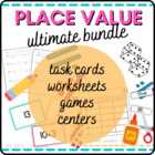 Place Value Center Games:  2 Digit