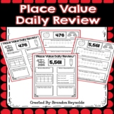 Place Value: Daily Review