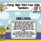 Place Value: Flying High With Four-Digit Numbers