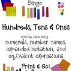 Place Value Fun: Bingo Plus!  {{Print & Go!}}  (Common Core)