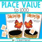 Place Value Games - Numbers 1 - 1 000