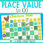 Place Value Games - Numbers 1 - 100