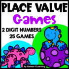 Place Value Games for 2 Digit Numbers