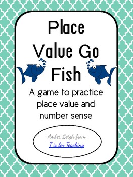 Place Value Go Fish (Math Center)