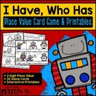 Place Value I Have, Who Has Card Game & Printables-blackli