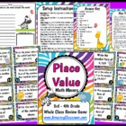 Place Value Math Movers Game for Your Entire Class!