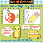 Place Value Mystery Pictures Expanded Form {Apple, Pencil,