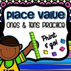 Place Value: Ones and Tens Practice
