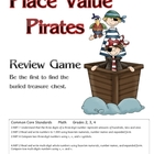Place Value Pirate Review Game