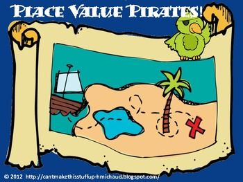 Place Value Pirates! Freebie!