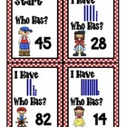 Place Value Pirates I Have/Who Has Game
