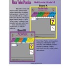 Place Value Practice Smartboard Lesson Gr. 3-5