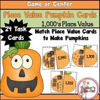 Place Value Pumpkins to 1000's Place