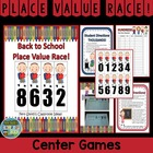 Place Value Race Back to School Theme By Fern Smith