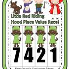 Place Value Race Game Little Red Riding Hood Theme By Fern Smith