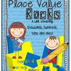 Place Value Rocks {A unit for ones, tens, hundreds, and th