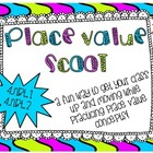Place Value Scoot - 4.NBT.2 - Numbers to the 100,000 Place
